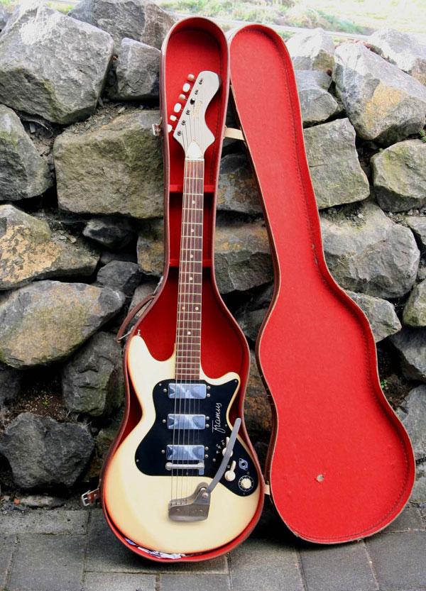 Framus-Vintage-E-Gitarre-um-1960